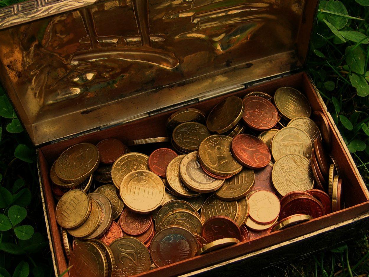 Geld_munten_kist_schatkist